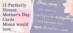 12 perfectly honest mother's day cards found on Etsy