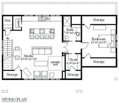 Garage Apartment Plans 1 Car Garage Apartment Garage Apartment ...