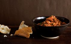 Turkish-Style Tomato and Red-Pepper Spread: 2000s Recipes + Menus : gourmet.com
