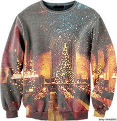 It's a Harry Potter Christmas Sweatshirt.