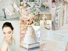 Grayed jade wedding inspiration | Burnett's Boards