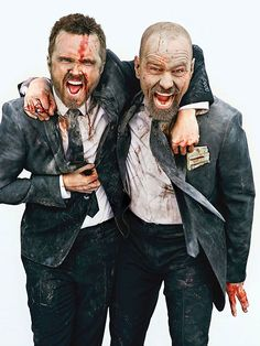 Breaking Bad: Bryan Cranston and Aaron Paul for Entertainment Weekly