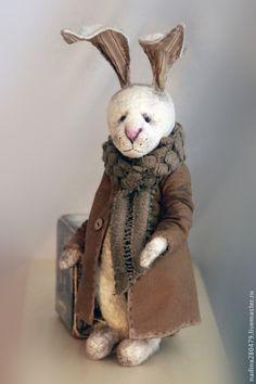 Мишки Тедди ручной работы. Заказать Кроль Тедди Брюскон. Курская Надежда. Ярмарка Мастеров. Кролик игрушка, шплинтовое соединение