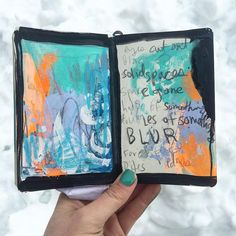 @caitmakes | Creative Team Inspiration | Get Messy Art Journal