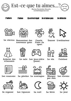 How To Learn French Classroom French Language Lessons, French Language Learning, French Lessons, Learning Spanish, Spanish Lessons, Spanish Language, French Flashcards, French Worksheets, French Teaching Resources