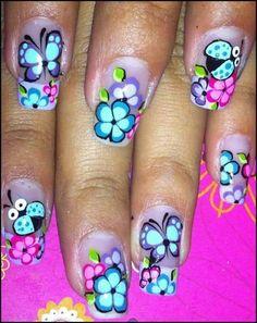 Viviana Get Nails, Bridal Nails, Toe Nail Art, Nailart, Flower Nails, Halloween Nails, Coffin Nails, Pedicure, Diy Jardin