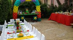 1st Birthday Telettubies Birthday Party Ideas | Photo 1 of 12 | Catch My Party