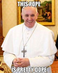 Fun post by Meg Hunter-Kilmer, Held by His Pierced Hands - 5 Shocking Things Pope Francis Believes