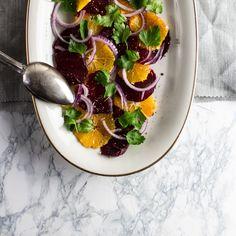 Salat aus roter Bete und Orangen | deli
