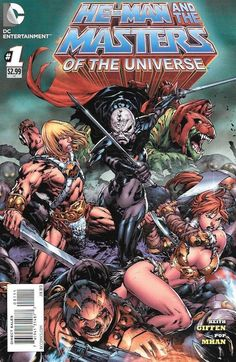 Desperate Times __Written By Kieth Giffen , Art By Pop Mhan , Cover Art By Ed Benes , While the Masters of the Universe mourn the loss of a fallen friend, Hordak infiltrates Eternia! Featuring the ret