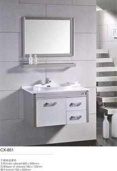 Best Modern Stainless Steel Bathroom Cabinet Images On Pinterest - Best place to buy bathroom vanity