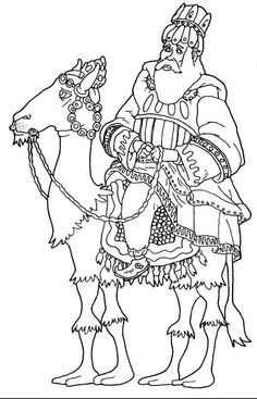 Dibujos de reyes magos para imprimir y colorear: Melchor Religious Pictures, Coloring Pages, Quilts, Crafts, Christmas Patterns, Art, Holidays, House, Ideas