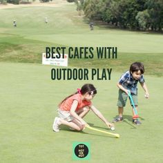 Top 17 best child friendly cafes in Melbourne with outdoor play area or next to playground.