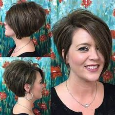Charming Short Brunette Hairstyles - Love this Hair