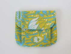 Sew Chatty: {Tiny Pleated Pouches}