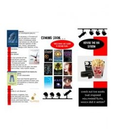 Books made into movies (trifold, printable)