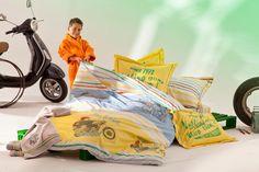 zauberhafte kinderbettwäsche von catimini. frisch, fröhlich, frei ... Children, Kids, Comforters, Duvet, Toddler Bed, Product Launch, Bikers, Design, Fresh