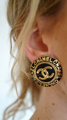"""Thanks for the kind words! ★★★★★ """"Love the earrings and came in a Chanel perfume box!!"""" Debi http://etsy.me/2mUkwDO #etsy #jewelry #earrings #chanel #chanelvintage #chanelcambon #chanelgold #chanelclips #chanelearrings #chanelring"""