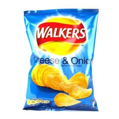 Walkers Cheese and Onion Crisps 6 Pack