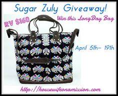 Win a Sugar Zuly bag!