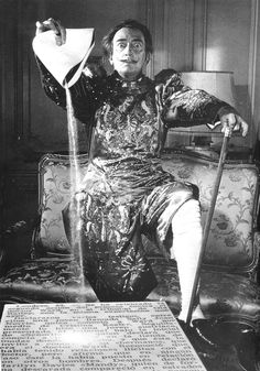 Salvador Dali, 1963. ☀