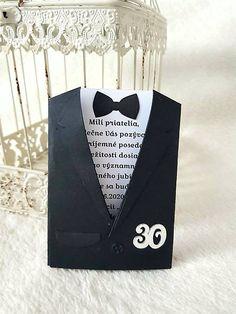 MagicArt / Elegán Birthday Invitations, Gentleman, Notebook, Gentleman Style, The Notebook, Anniversary Party Invitations, Men Styles, Exercise Book, Notebooks
