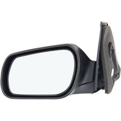 2004-2009 Mazda 3 Mirror LH, Power, Non-heated, Manual Folding, Paint To Match