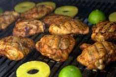 Tequila-Lime Grilled Boneless Skinless Chicken Thighs. These have amazing flavor! Try them for your last summer cookout!