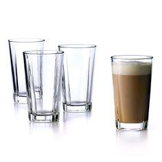 Grand Cru Long Drink Glass // Set of 4 Latte Macchiato, Design3000, Long Drink, Heat Resistant Glass, Grand Cru, Cafetiere, Shops, Shot Glasses, Mug Cup