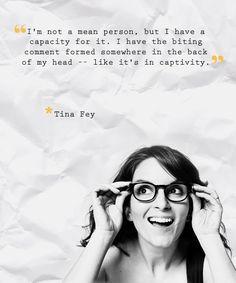 mean? Tina Fey
