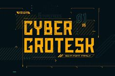 Font family by Olga Ryzychenko on Do you like cyberpunk? I am adore cyberpunk. I like so much like geometry, futurism and technology. And I saw that from year to year show up Sci Fi Fonts, Game Font, Futuristic Fonts, Logo Simple, Font Family, Cool Fonts, Minimal Logo, Concept Art, Logo Design