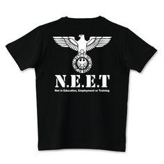 N.E.E.T(バックプリント)   デザインTシャツ通販 T-SHIRTS TRINITY(Tシャツトリニティ)