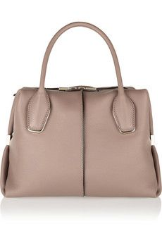 Tod's D-Cube Bauletto medium textured-leather tote | NET-A-PORTER