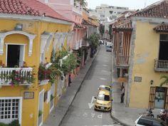 As cores da Colômbia em Cartagena ♥