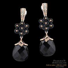 Bellarri black onyx earrings from Pearlman's Jewelers