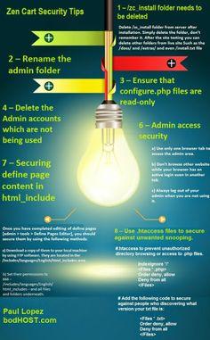 #zentcart security tips