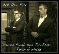 Person of Interest: Finch and Reese. Harold Finch, Jack Dawson, John Reese, Secrets Of The Universe, Jim Caviezel, Person Of Interest, Great Tv Shows, The Fault In Our Stars, Film Serie