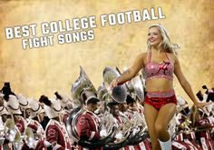 These 10 fight songs top everyone's list for the best in college football. What…
