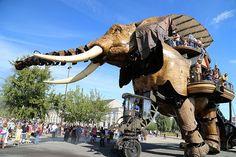 Nantes Maschines d´Iles Elefant 2 Kurzurlaub