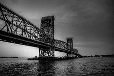 Marine Parkway Bridge von Coney Island nach Queens