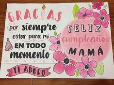Friendship Tattoos, Bratz Doll, Ideas Para Fiestas, Mom Day, Birthday Decorations, Diy Gifts, Hand Lettering, Doodles, Happy Birthday