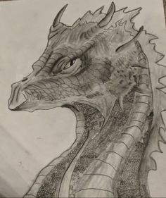 Drawing and shading done by a 13 year old :) Realistic Dragon Drawing, 13 Year Olds, Dragons, Art, Ideas For Drawing, Pictures, Art Background, Kunst, Performing Arts