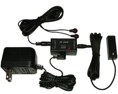 Compact IR Repeater system allows you to Control Home Theater Components Located behind Cabinet Doors by Unique Products Online. $34.31. The IR Repeater kit is Easy to Install -  1. place the Receiver in your desired location. You can attach it to the location with the included double sided tape if you wish.  2. Place the IR emitters on devices that you want to control. (Place them on the IR window on the devices) by peeling and sticking the emitters on the device.  3. Plug ...