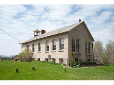 Own a piece of Door County history! This fantastic schoolhouse is in great condition and ready for your business, home or both. Open, airy, light main room lends itself well to a yoga studio, dance hall, day care, architecht'/accountant's/ real estate or any other office. Very clean and tastefully renovated in 2004. Newer septic, furnace and a/c. Full, clean basement and large garage on property.