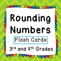 Do you want your 3rd and 4th graders to know how to round numbers?  Do you want them to meet the Common Core standards 3.NBT.A.1 and 4.NBT.A.3?  This packet of materials will help your students learn about rounding numbers and easily reinforce their learning throughout the school year!   ***What you get***When you download this freebie from Teaching Buddy, you receive:*36 flash cards* that you can laminate and use as a whole class, in student pairs, or in math centers.