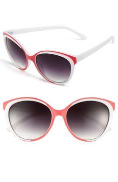 FE NY 'Lava' Sunglasses available at #Nordstrom