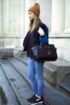 Nikes + Jeans