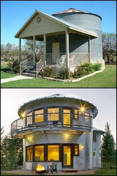 Have a look at these 9 amazing homes that prove silos can be so much more than j. - Have a look at these 9 amazing homes that prove silos can be so much more than just storage for gra - Diy Pole Barn, Pole Barn Homes, Tiny House Living, My House, Grain Silo, Unusual Homes, Round House, Tiny House Plans, Backyard