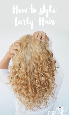 Hair Romance - How to wash and style curly hair video tutorial