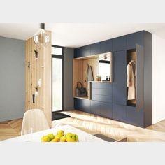Home Entrance Decor, House Entrance, Home Office Decor, Home Decor, Home Hall Design, Home Interior Design, Hallway Designs, Closet Designs, Armoire Entree